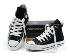 Converse ALL STAR gym shoes (konversa) Black high