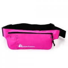 Спортивная сумка на пояс METEOR (original) для бега розовая