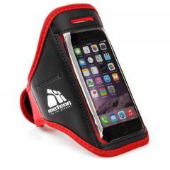 Спортивный чехол для телефона на руку Meteor (original) красный