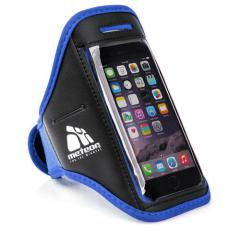 Спортивный чехол для телефона на руку Meteor (original) синий