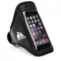 Спортивный чехол для телефона на руку Meteor (original) черный