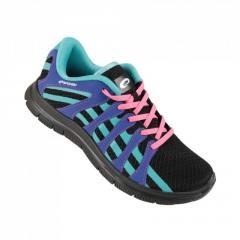 Кроссовки для бега Spokey Liberate7 женские (original) черно-сине-бирюзовый
