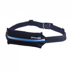 Спортивная сумка на пояс Spokey SPARK (original) для бега черно-синяя