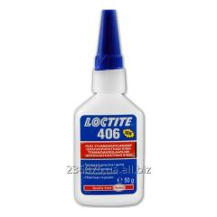 Loctite 406 Низкой вязкости для трудносклеиваемых пластиков и резин 50г
