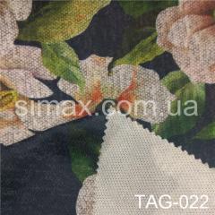 Ткань ангора принт, Код: TAG-022