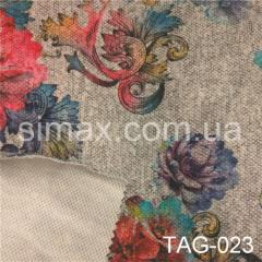 Ткань ангора принт, Код: TAG-023