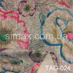 Ткань ангора принт, Код: TAG-024