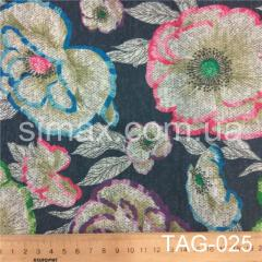 Ткань ангора принт, Код: TAG-025