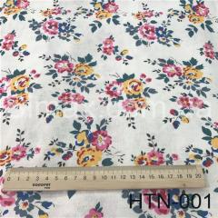 Ткань Лён принт HTN-001, Код: HTN-001