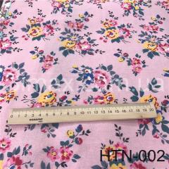 Ткань Лён принт HTN-002, Код: HTN-002