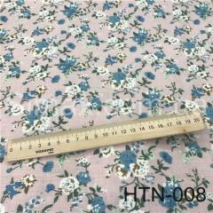 Ткань Лён принт HTN-008, Код: HTN-008