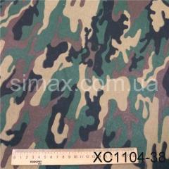 Ткань трёхнитка Камуфляж, Код: ХС1104-38