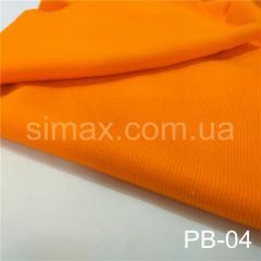 Довязы и манжеты из Рибаны, Код: РВ-04 Оранжевый