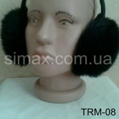 Наушники из натурального меха Rex, Код: TRM-08