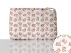 Одеяло антиаллергенное, двуспальное евро 200x220 см., Код: 10-0313 pink 200х220
