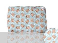 Одеяло антиаллергенное, полуторное 140x205 см., Код: 10-0313 blue 140х205