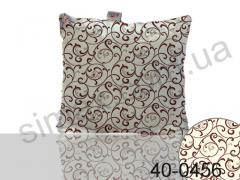 Подушка антиаллергенная на холлофайбере 60х60 см, Код: 40-0456 Beige 60х60