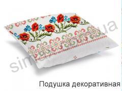 Подушка декоративная (рогожка) 50х50 см, Код: 18714-1 50х50