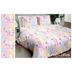 Постельная ткань N-6605-2Pink, Код: N-6605-2Pink
