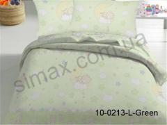 Постельная ткань Бязь Rainforce набивная, Код: 10-0213L. green