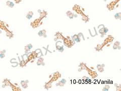 Постельная ткань Бязь Solo набивная Vanilla, Код: 10-0358 Vanilla