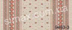 Скатертная ткань Рогожка, набивная, Код: 9483-3