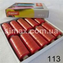 Швейная нитка 40s/2 (10шт x 400 ярдов), нитка 777 цветные, Код: 113