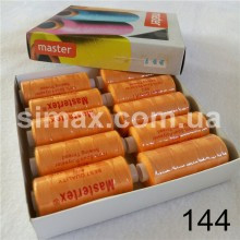 Швейная нитка 40s/2 (10шт x 400 ярдов), нитка 777 цветные, Код: 144