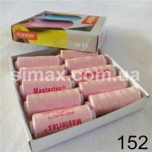 Швейная нитка 40s/2 (10шт x 400 ярдов), нитка 777 цветные, Код: 152