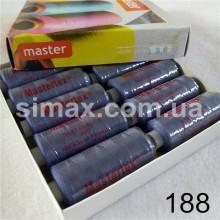 Швейная нитка 40s/2 (10шт x 400 ярдов), нитка 777 цветные, Код: 188