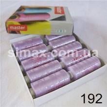 Швейная нитка 40s/2 (10шт x 400 ярдов), нитка 777 цветные, Код: 192