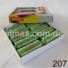 Швейная нитка 40s/2 (10шт x 400 ярдов), нитка 777 цветные, Код: 207