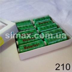 Швейная нитка 40s/2 (10шт x 400 ярдов), нитка 777 цветные, Код: 210