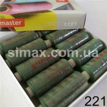 Швейная нитка 40s/2 (10шт x 400 ярдов), нитка 777 цветные, Код: 221
