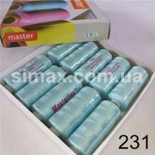 Швейная нитка 40s/2 (10шт x 400 ярдов), нитка 777 цветные, Код: 231