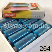 Швейная нитка 40s/2 (10шт x 400 ярдов), нитка 777 цветные, Код: 264