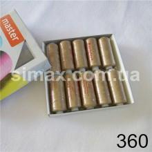 Швейная нитка 40s/2 (10шт x 400 ярдов), нитка 777 цветные, Код: 360