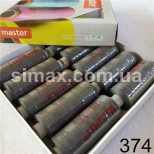 Швейная нитка 40s/2 (10шт x 400 ярдов), нитка 777 цветные, Код: 374