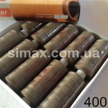 Швейная нитка 40s/2 (10шт x 400 ярдов), нитка 777 цветные, Код: 400