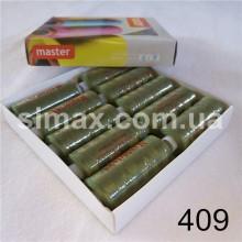 Швейная нитка 40s/2 (10шт x 400 ярдов), нитка 777 цветные, Код: 409