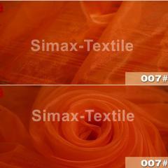 Шифон для штор, Код: 007 Оранжевый