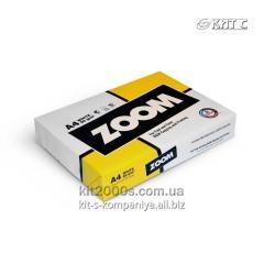 Бумага  A4 80 г/м2 ZOOM 500л.