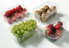 Пластиковая упаковка для фруктов
