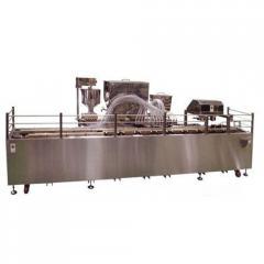 Автоматическая линия формования и выпечки кондитерских бисквитных изделий с начинкой типа мишки Барни TAWC