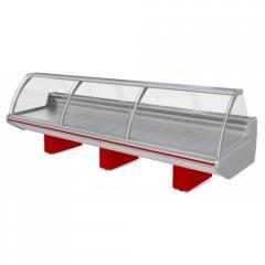 Витрина холодильная с механизмом подъема стекла Парабель