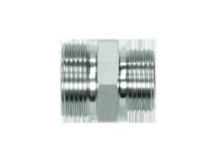 Адаптер прямой редукционный штуцер DKOL M18x1.5 (12L)-M16x1.5 (10L)