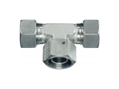 Адаптер тройник гайка снизу DKOL M22x1.5 (15L)