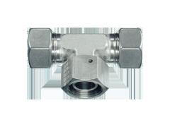 Адаптер тройник гайка снизу DKOS M22x1.5 (14S)