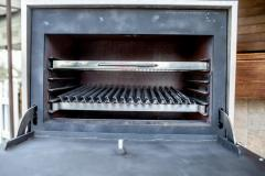 The closed BQM-3 furnace grill