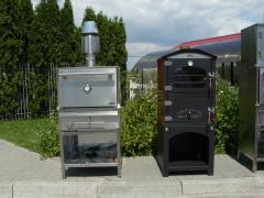 The furnace closed on BQB-3 firewood